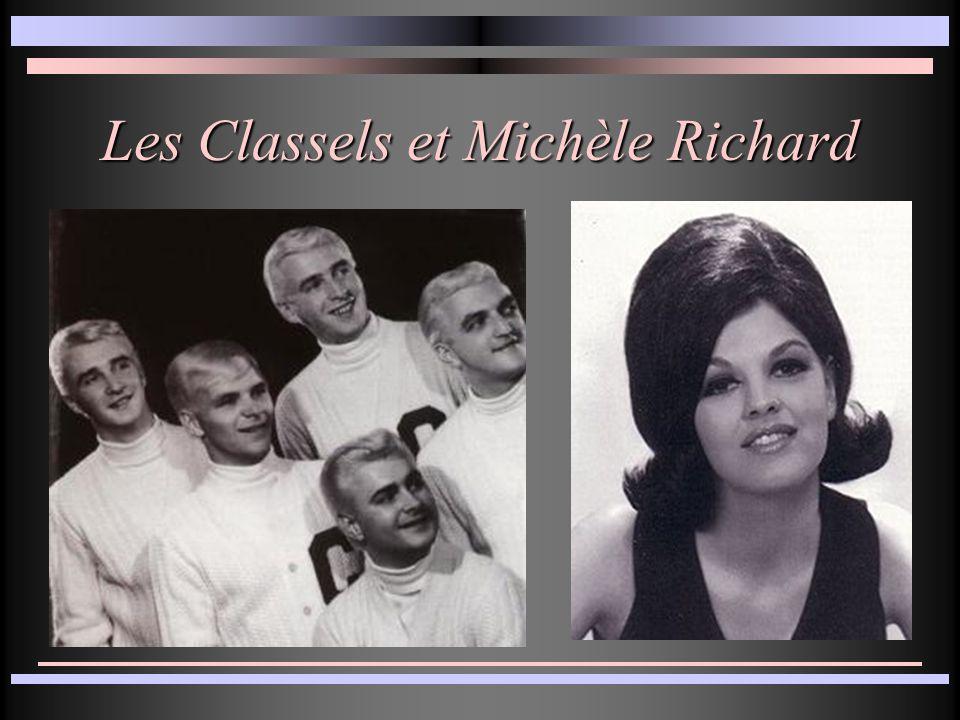 Les Classels et Michèle Richard