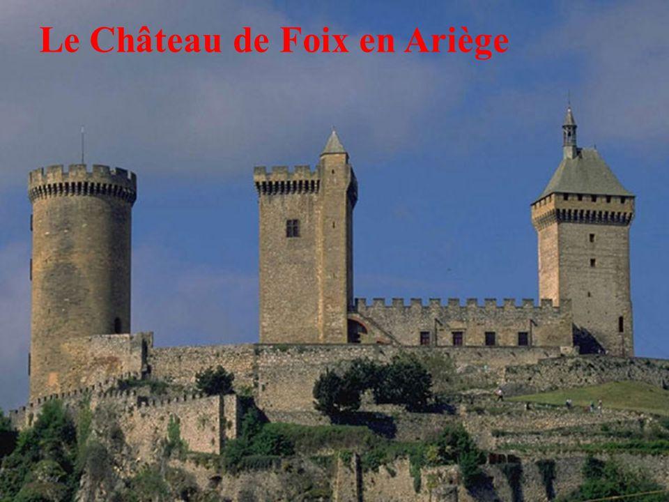 12 Le Château de Foix en Ariège
