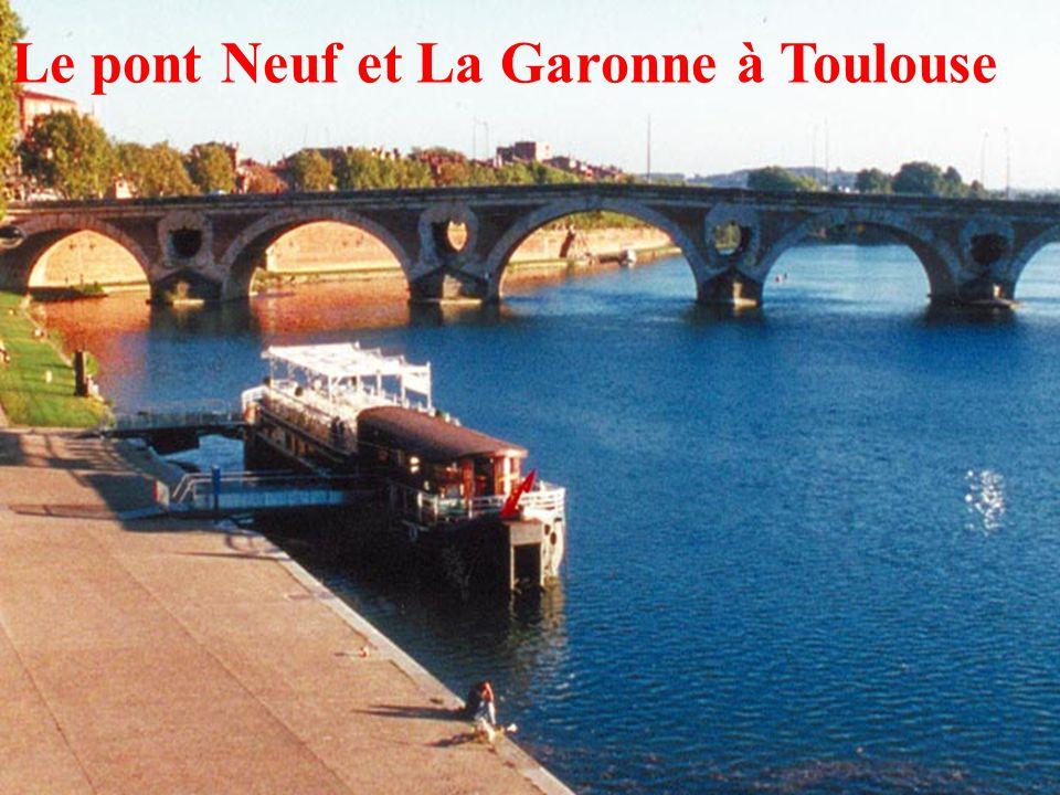 21 Le pont Neuf et La Garonne à Toulouse