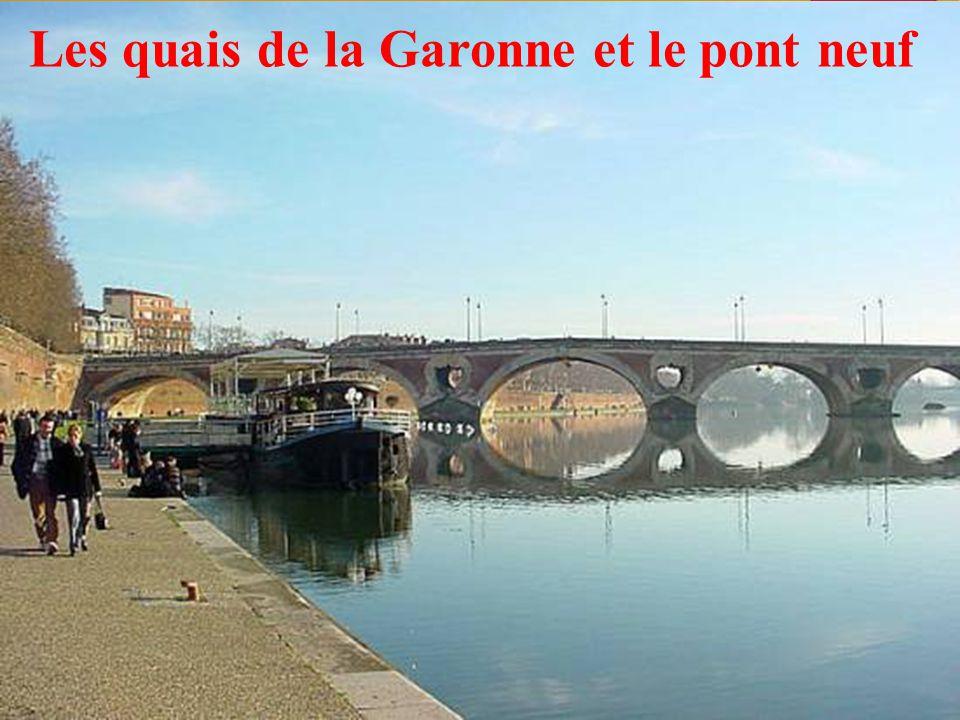 22 Les quais de la Garonne et le pont neuf