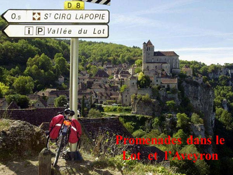 7 Sur la route de St. Jacques de Compostelle : Conques (Aveyron)