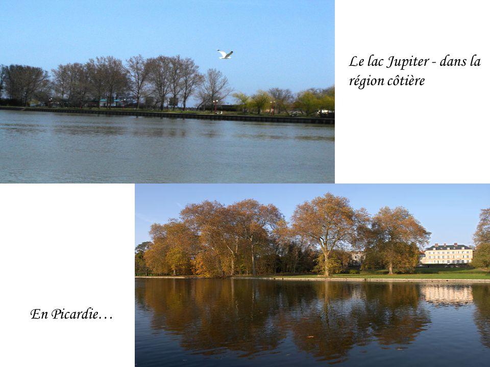 En Picardie… Le lac Jupiter - dans la région côtière