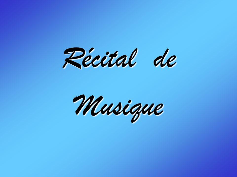 Récital de Musique