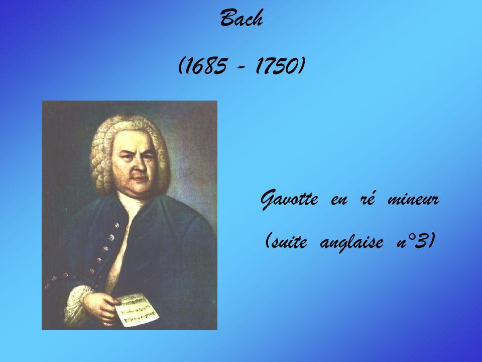 Bach (1685 - 1750) Invention et Sinfonia n°13 en la mineur