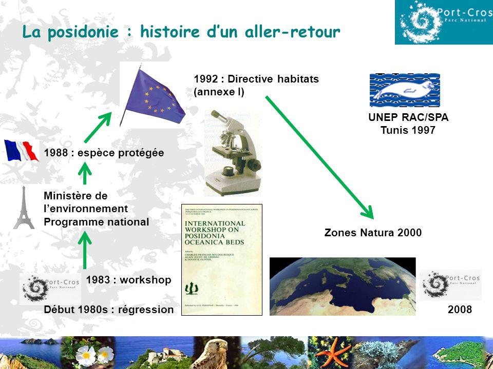 Début 1980s : régression 1983 : workshop Ministère de lenvironnement Programme national 1988 : espèce protégée 1992 : Directive habitats (annexe I) Zo