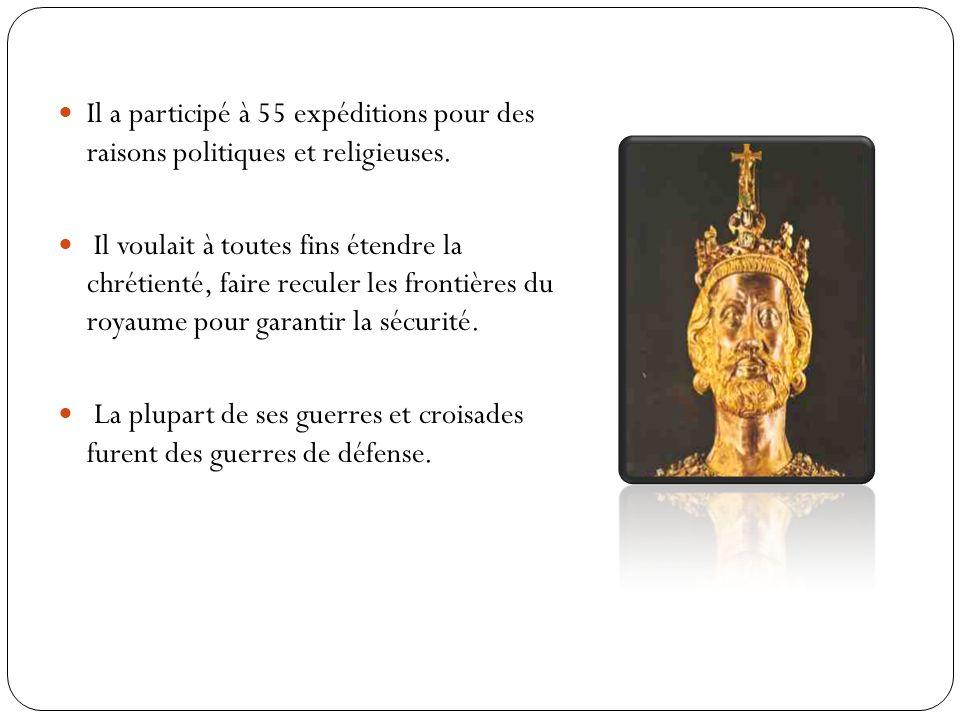 Charlemagne sera un roi conquérant, qui fonda un immense empire chrétien.
