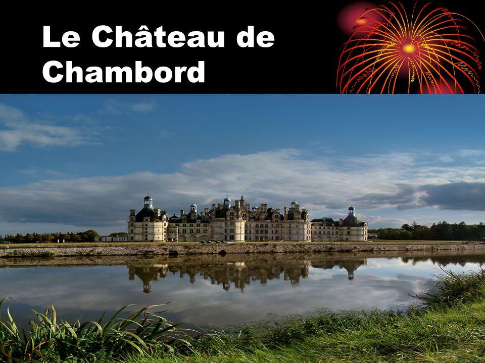 Le château est situé sur une courbe du Cosson, petit affluent du Beuvron, lui même affluent de la Loire, à environ 6 km de la rive gauche de la Loire, et à 14 km à lest de Blois, sur la commune de Chambord, dans le département de Loir-et-Cher, en France.