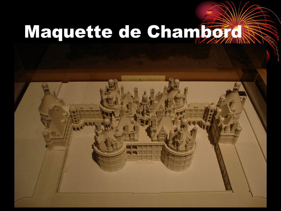 Maquette de Chambord