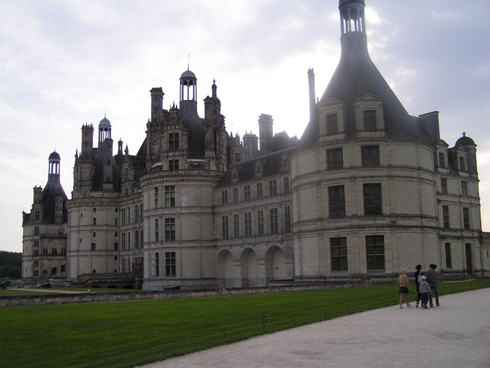Chambord: la construction Un des architectes de Chambord aurait été Leonardo da Vinci.