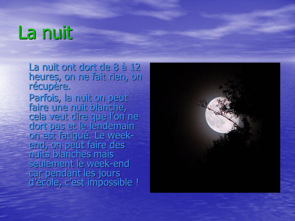 Comment expliquer lalternance du jour et de la nuit .