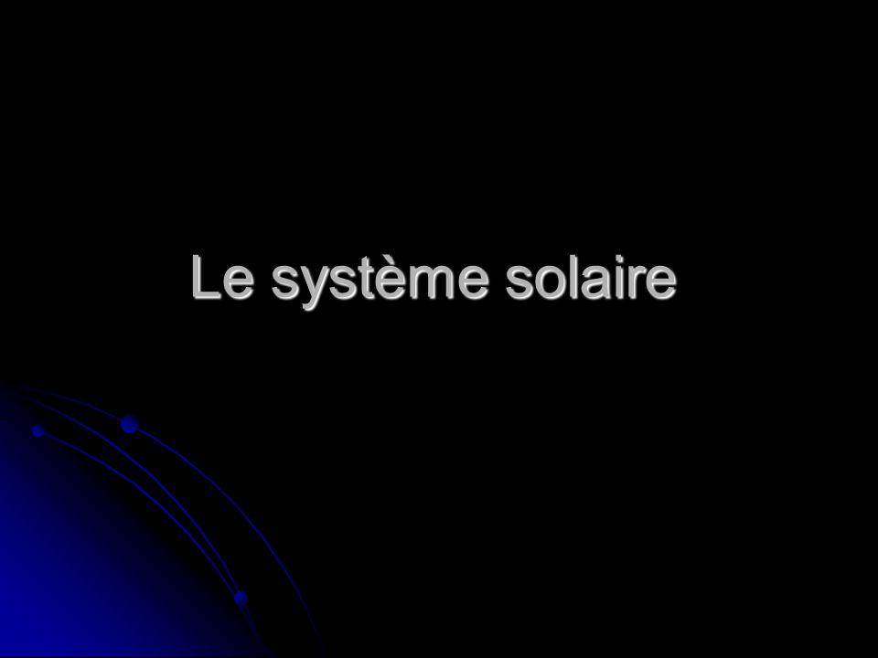 Le soleil Le soleil est lastre le plus important de notre système solaire.