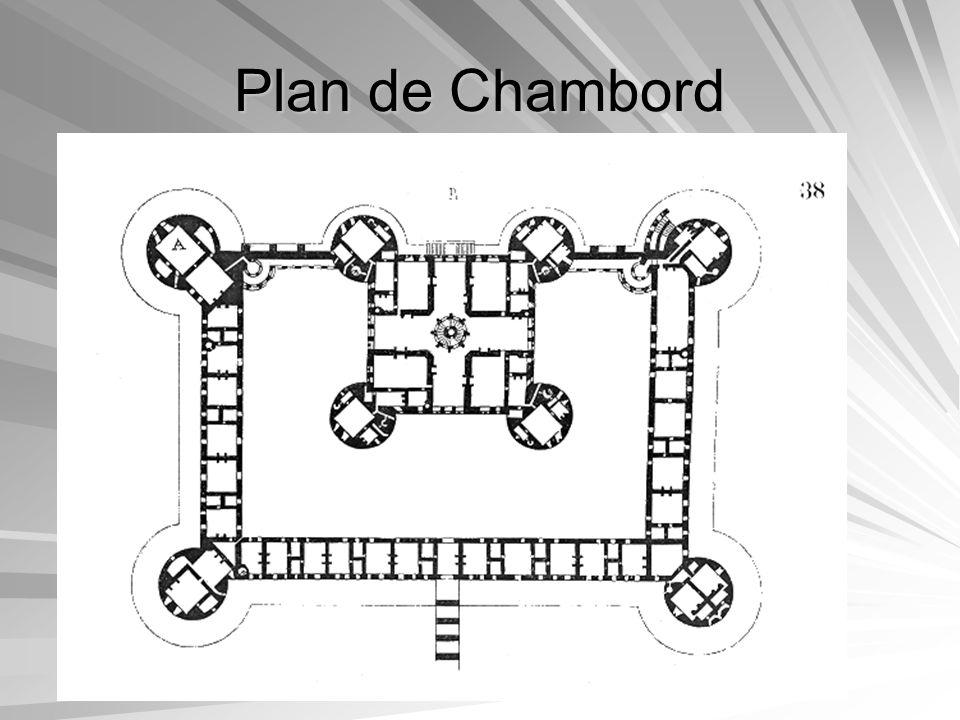 François 1er François 1er a habité 42 jours à Chambord et na jamais vu son château terminé.