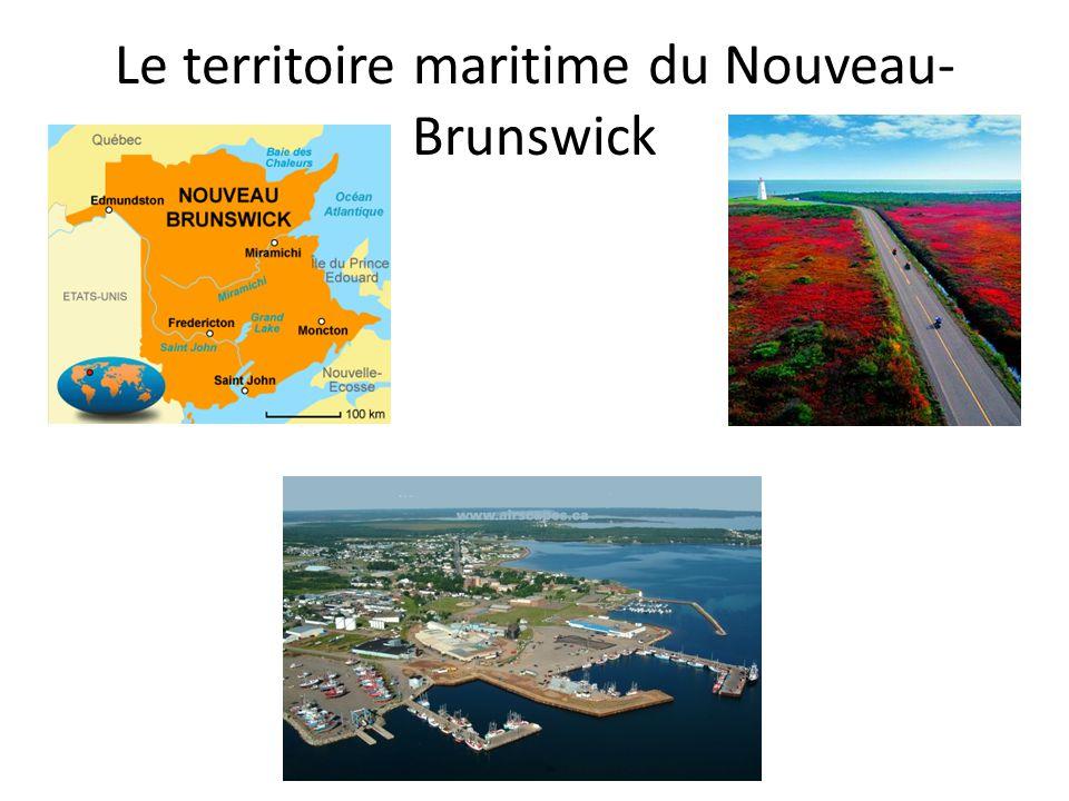 Le territoire maritime du Nouveau- Brunswick (P.10-11) Pourquoi le territoire maritime du Nouveau- Brnswick est-il un secteur économique important .