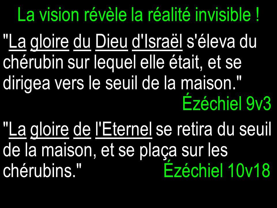 La vision révèle la réalité invisible .