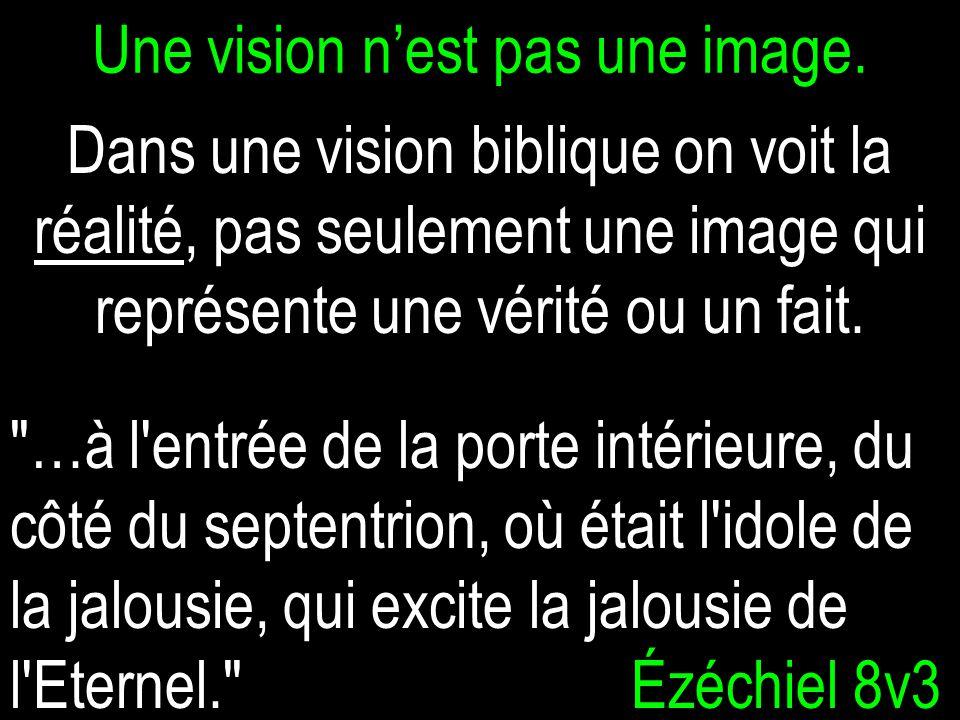 Une vision nest pas une image.