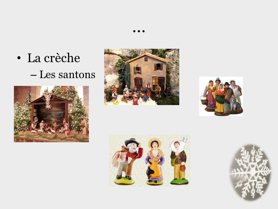 … La crèche – Les santons
