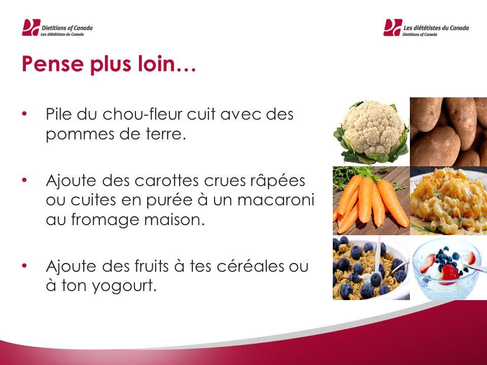 www.dietetistes.ca Consulte des recettes, des trucs pour cuisiner et des renseignements sur la saine alimentation.