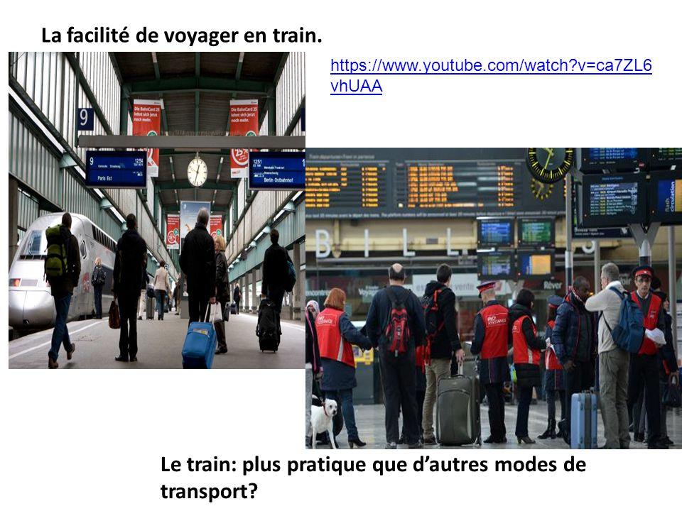 La facilité de voyager en train. Le train: plus pratique que dautres modes de transport? https://www.youtube.com/watch?v=ca7ZL6 vhUAA