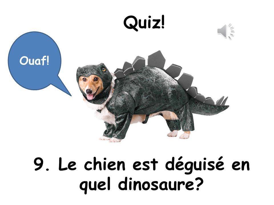 Oui, super! Cest Tyrannosaure!