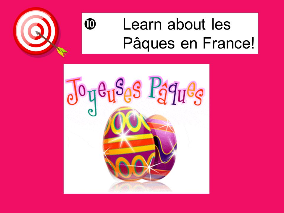 Learn about les Pâques en France!