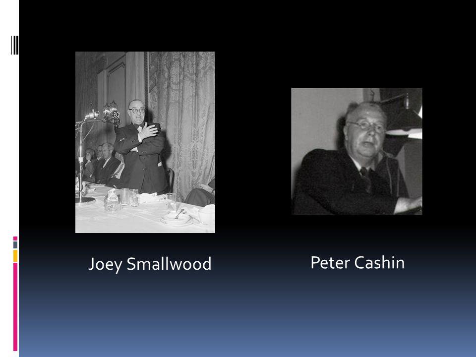 Le Référendum de 1948 Divisé en deux parties: a) Les confédérationnistes – mené par Joey Smallwood et Gordon Bradley b) Les anti- confédérationnistes – mené par Peter Cashin