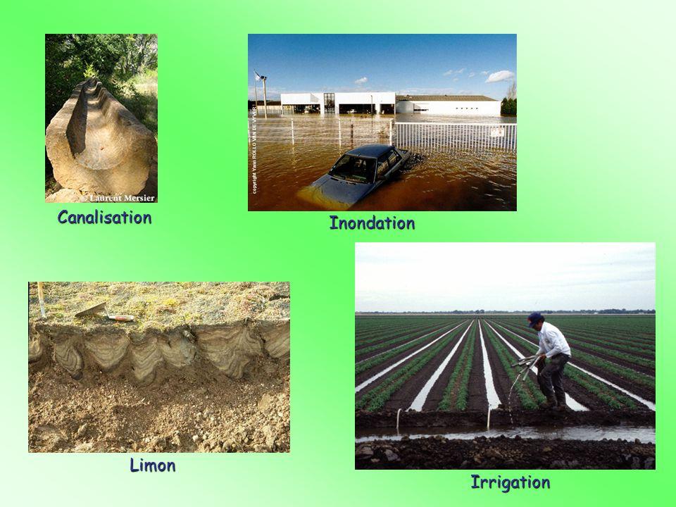 Canalisation Inondation Irrigation Limon