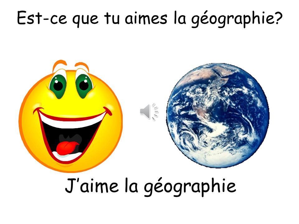 Est-ce que tu aimes le français? Jadore le français?