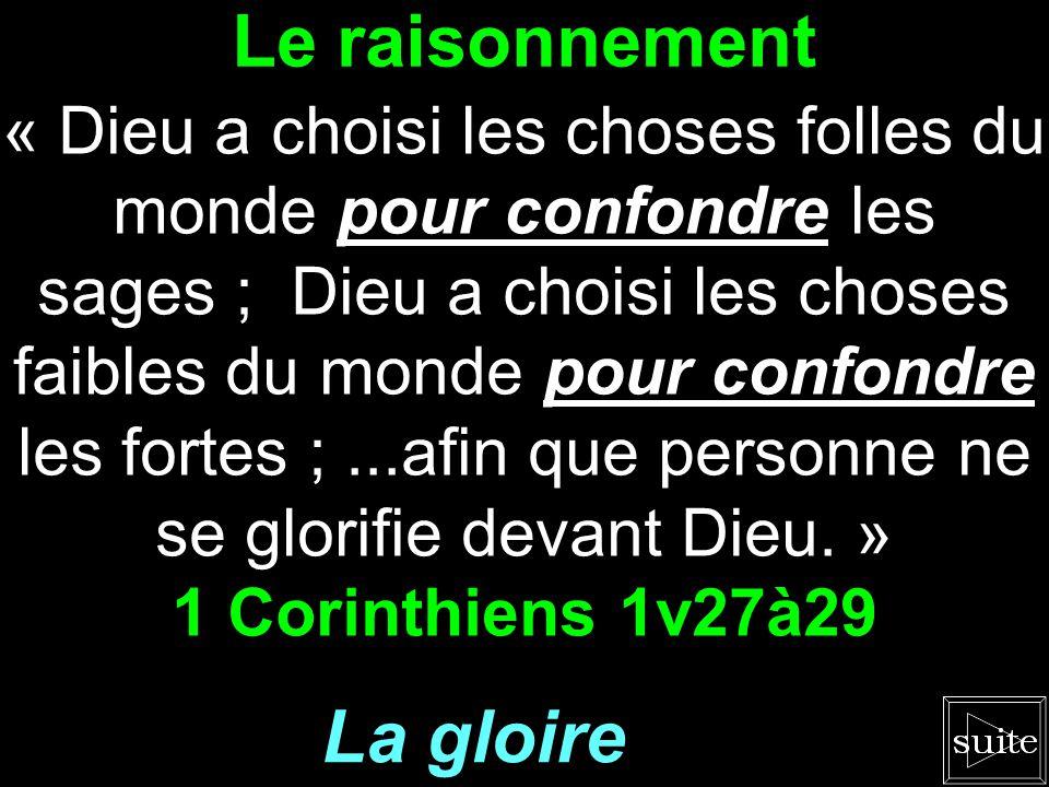 La Croix « Car la folie de Dieu est plus sage que les hommes, et la faiblesse de Dieu est plus forte que les hommes. » 1 Corinthiens 1v25 La sagesse d