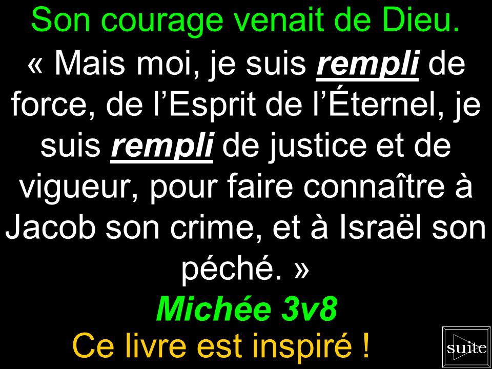 Le salut du pécheur « Quel Dieu est semblable à toi, qui pardonnes liniquité, qui oublies les péchés...