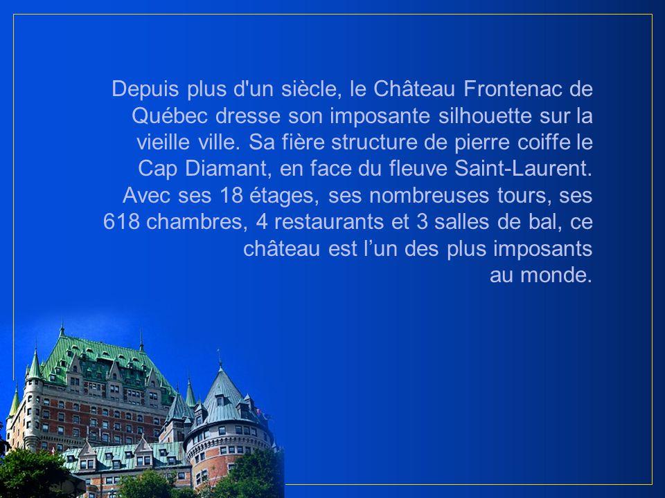 Au cœur de la vieille ville fortifiée de Québec