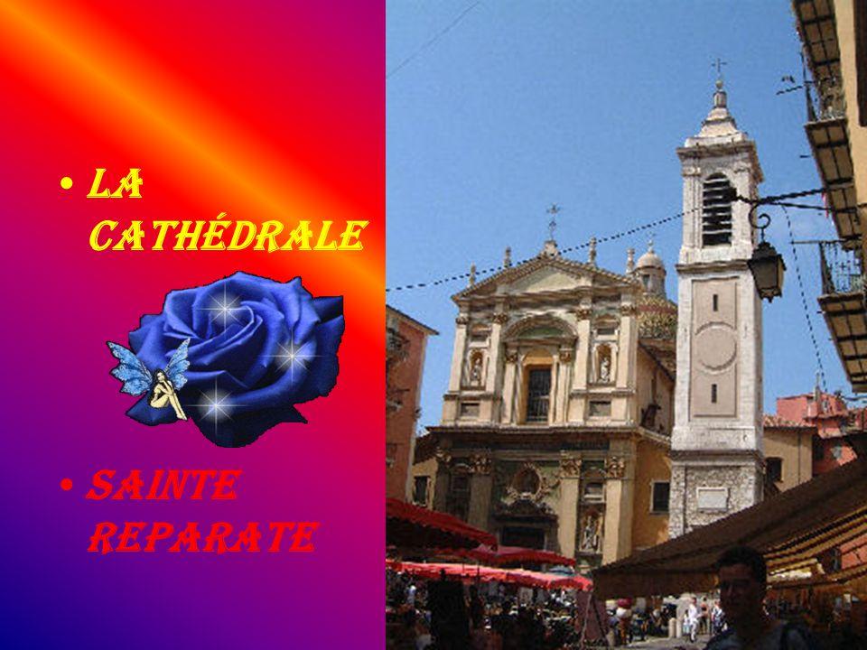 La cathédrale Sainte Reparate