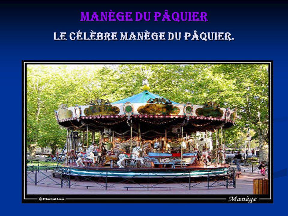 Manège du Pâquier Le célèbre manège du Pâquier.