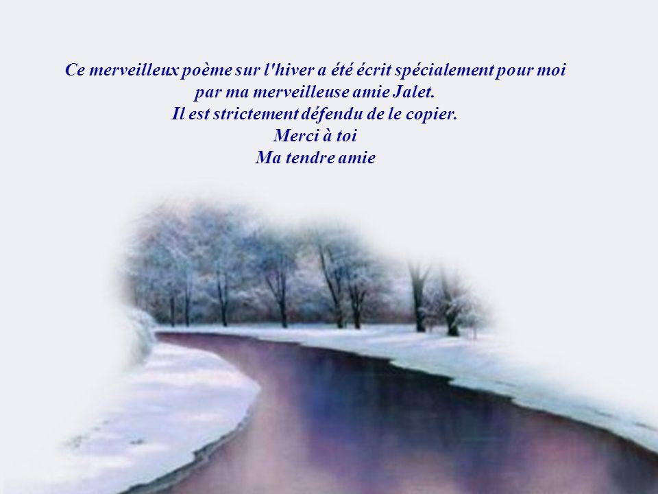 Je souhaite à tous de passer Un bel hiver Musique: Richard Abel Elegancia Création Lise Tardif (Nov.2005) La 4e,6e,12e diapositive sont des images De