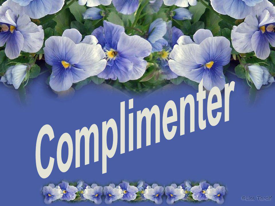 Vous pourriez partir au pays des compliments pas trop, juste ce qu il faut pour stimuler et donner ne serait-ce que par ce geste un élan vital un souffle d air frais.