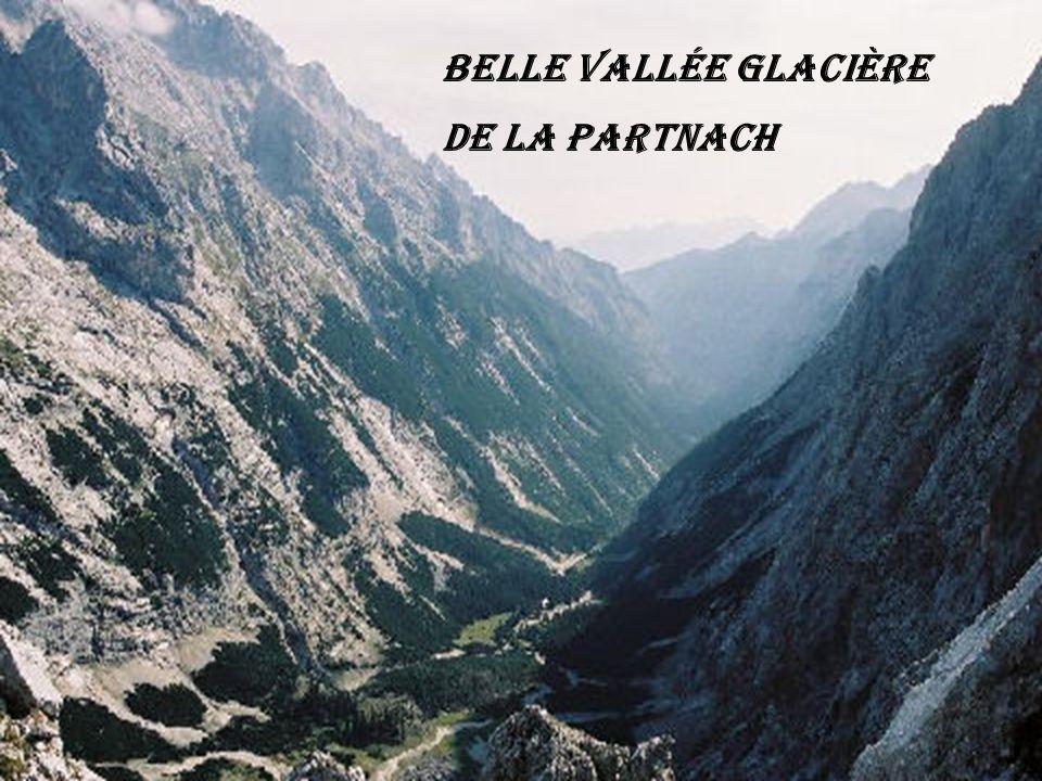 Glaciers de Krimmler à droite l arrête vers le Dreiherren-Spitze