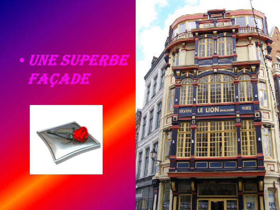 Une Superbe façade