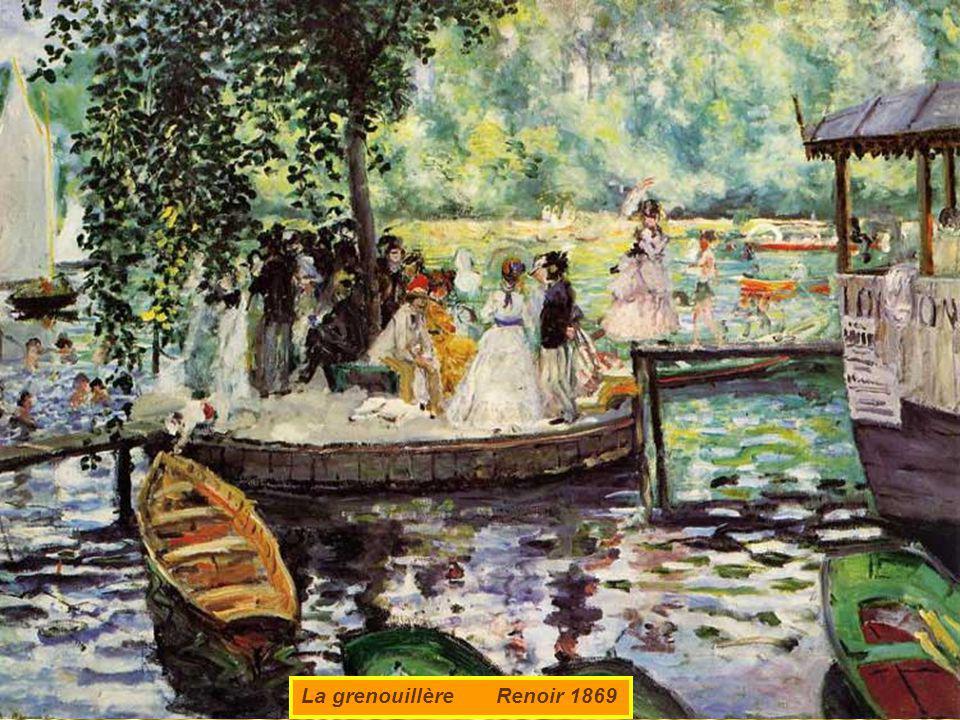 La musique aux tuileries Manet 1882