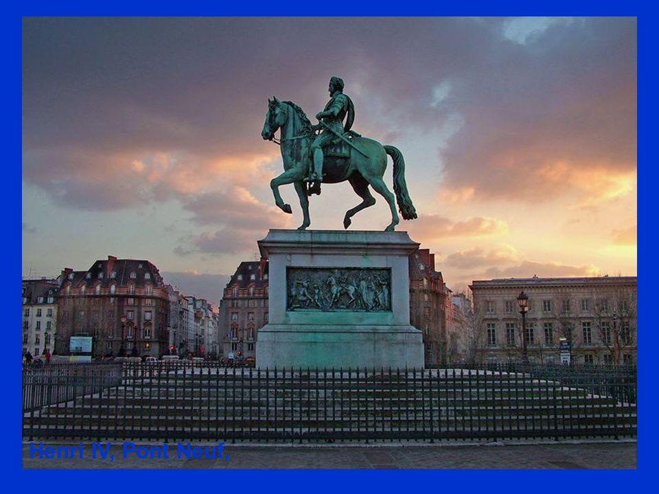 Henri IV, Pont Neuf, Paris