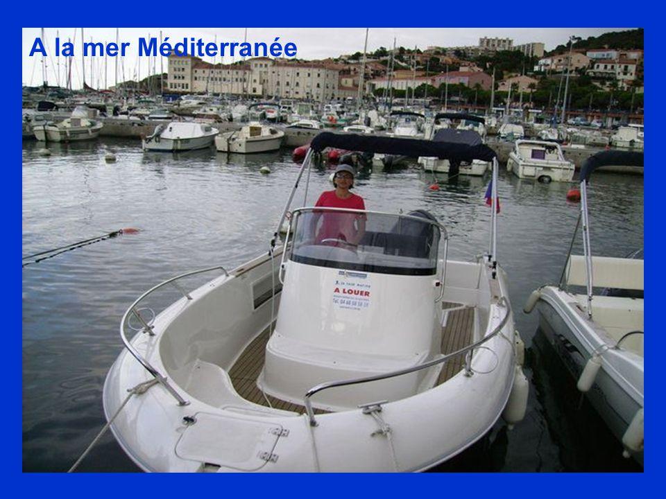 A la mer Méditerranée