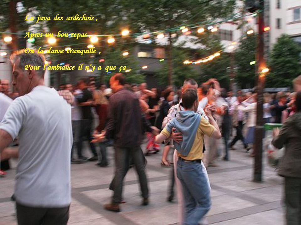 Pour bien se porter, Rien de tel quune petite danse, Cest toujours un bon dimanche, Quand on danse la java,