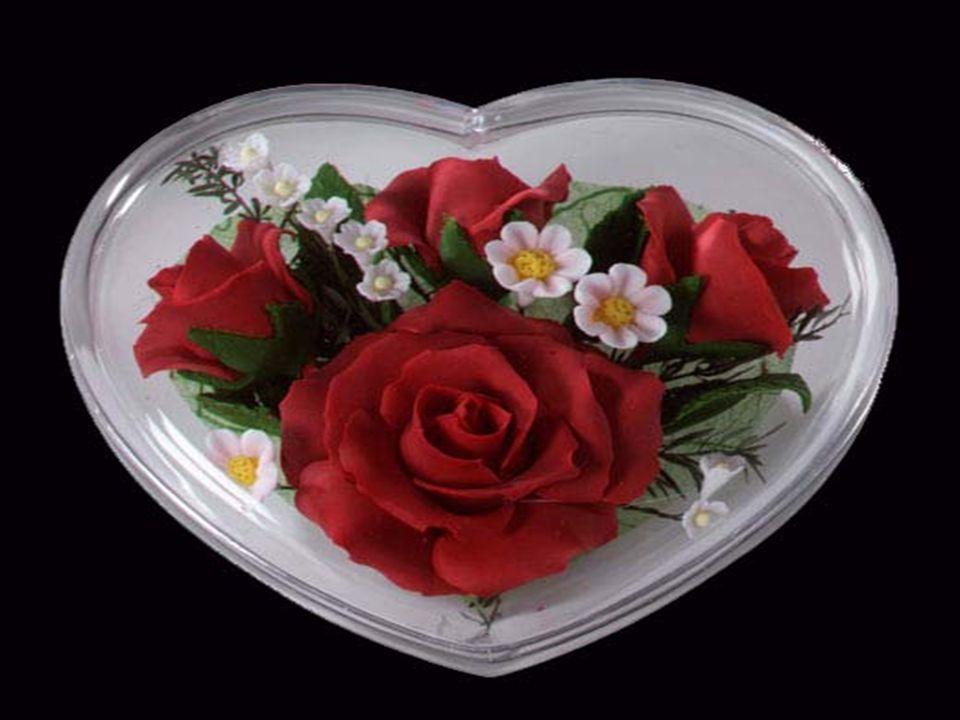 Ce cœur damour est à toi garde le toujours précieusement ne le laisse jamais triste car cest ma vie entre tes mains.