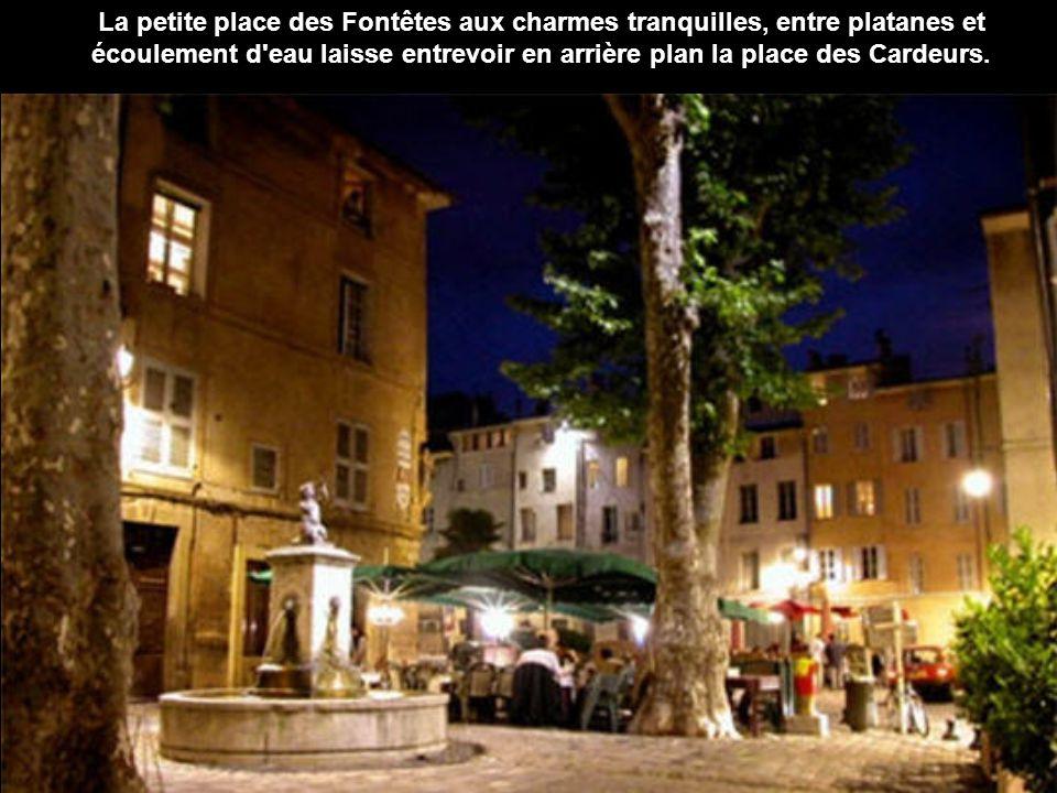 La montagne de la Sainte Victoire, emblème de la ville, fut aussi une des muses de Paul Cézanne.