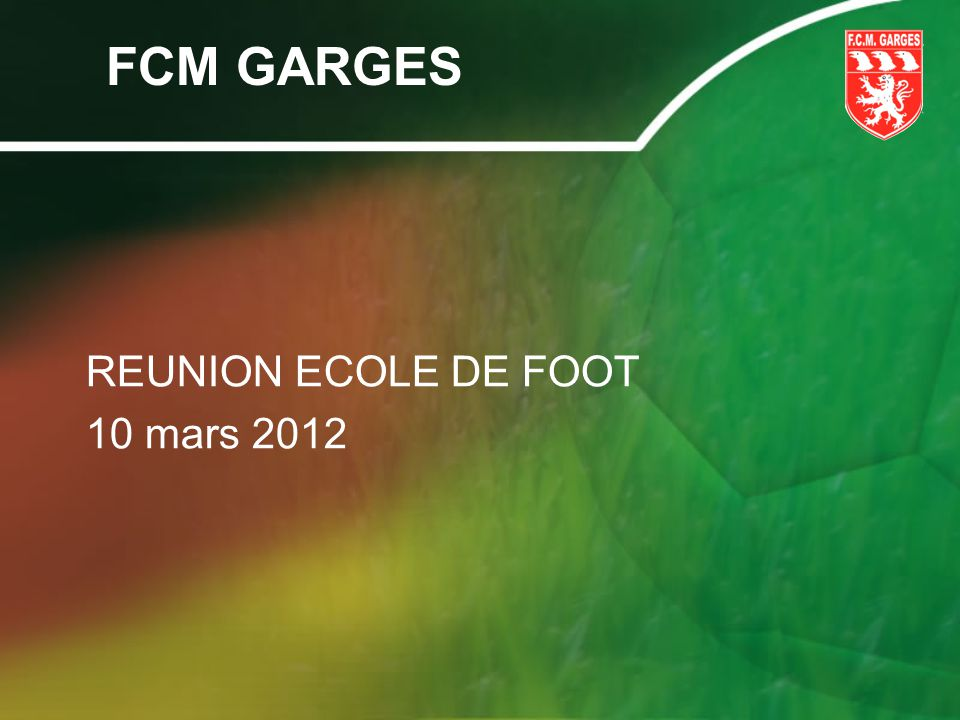 LÉcole De Foot Objectifs: Label FFF Cest un diplôme attribué par le Directeur Technique National par rapport à différents critères.