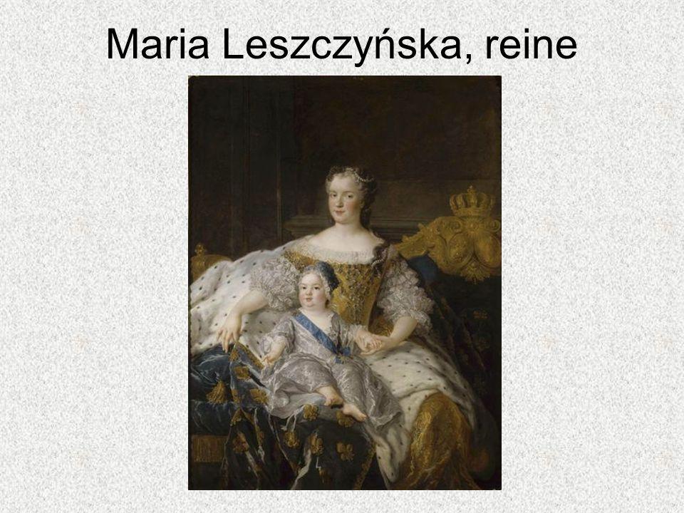 Maria Leszczyńska, reine