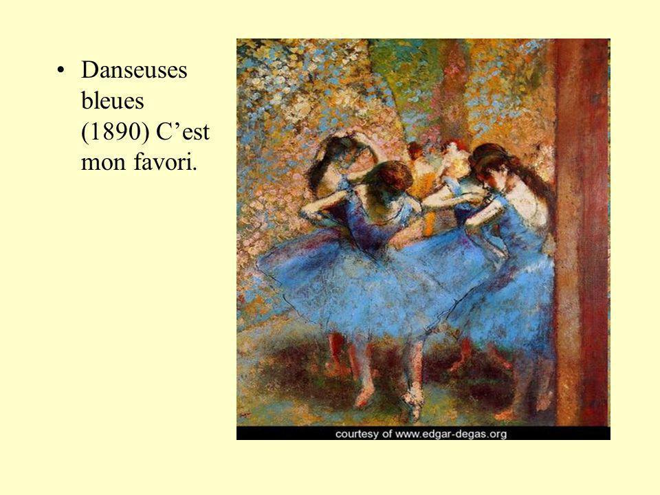 Danseuses bleues (1890) Cest mon favori.