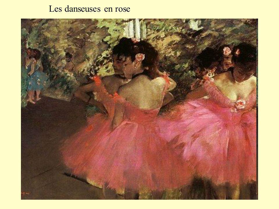 Les danseuses en rose