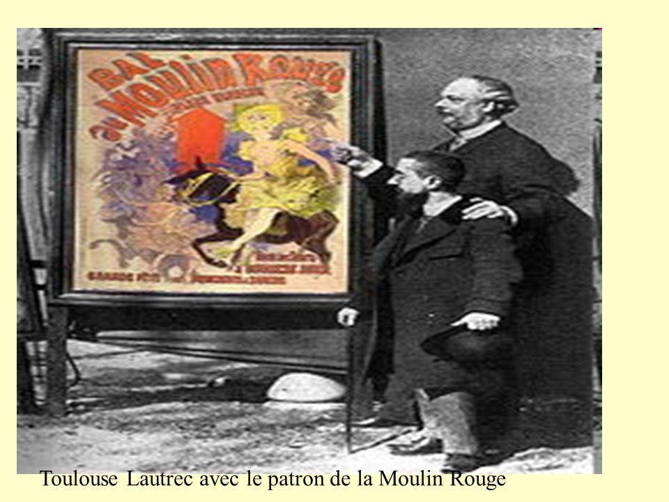 Une poster dun homme dans un cabaret