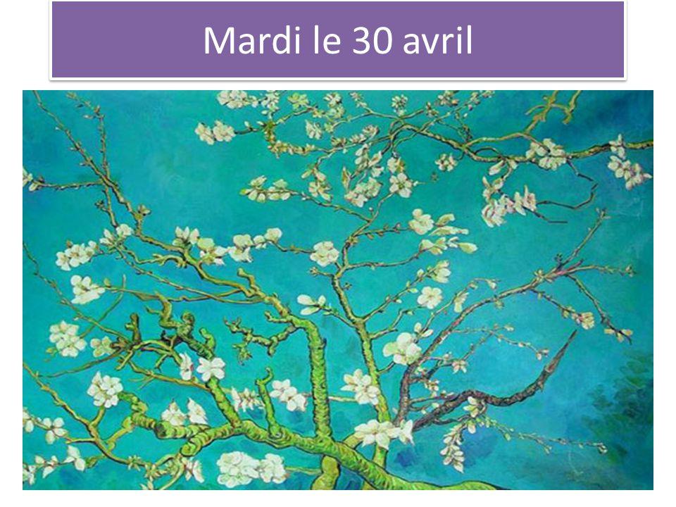 Mardi le 30 avril Musee DOrsay