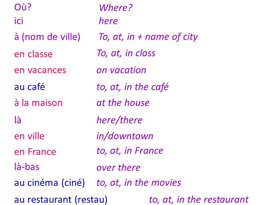 How to use one verb and add an infinitive : Je préfère … Je voudrais … Je (ne) veux (pas) … Est-ce que tu veux….
