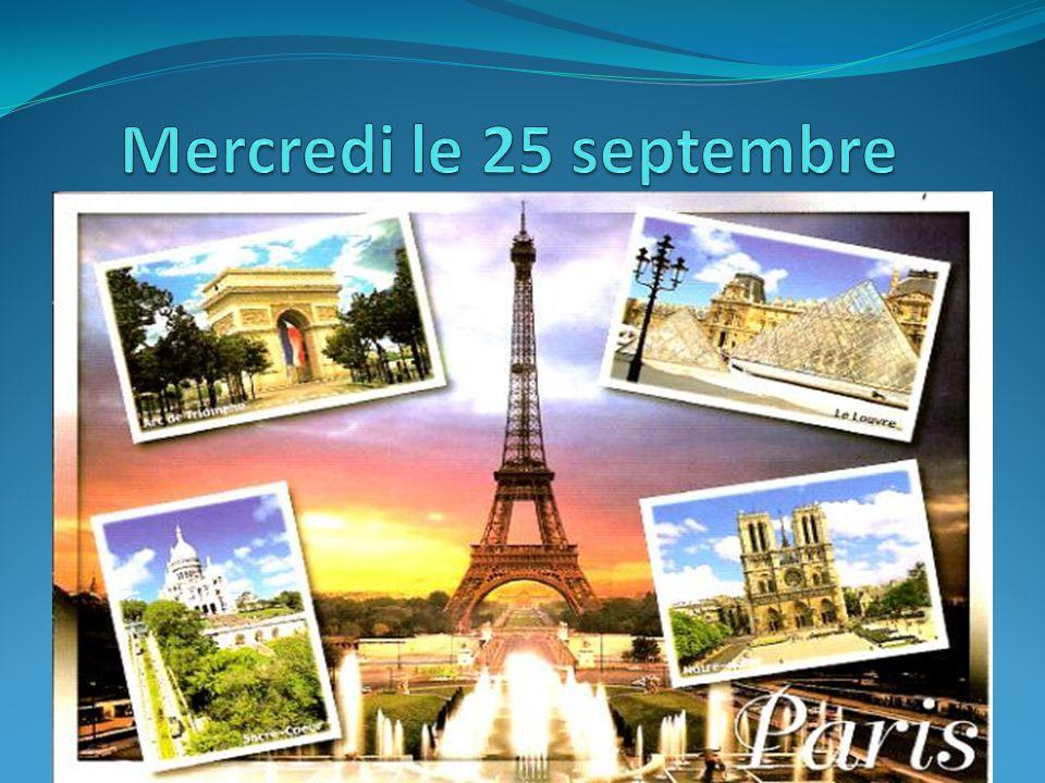 FRENCH CLUB Thursday, Sept.26 th 2:35-3:30.